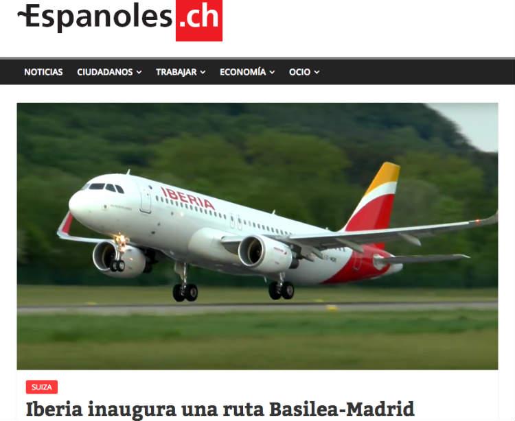 Espanoles.ch el portal de los españoles en Suiza