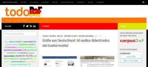TodoDaF directorio de recursos para aprender alemán