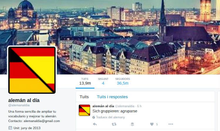 Cómo ampliar tu vocabulario de alemán con Twitter