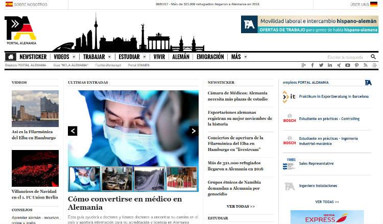 Portal Alemania, información objetiva y actual de Alemania