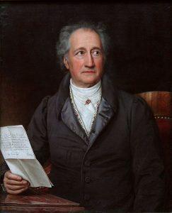 Retrato de Johann Wolfgang von Goethe (Stieler 1828)