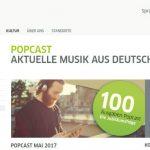 Popcast, la actualidad musical de Alemania