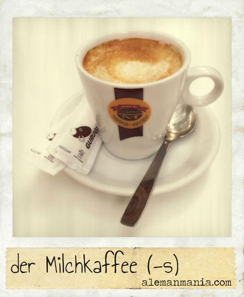 Der Milchkaffee