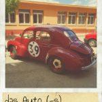 Auto, das. Renault 4CV ein schönes altes Auto