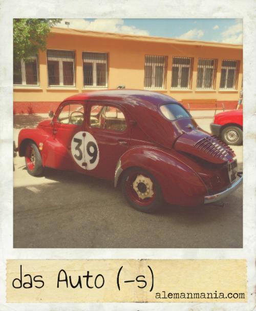 Das Auto. Renault 4CV ein schönes altes Auto