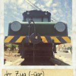 Zug, der. Traducción y declinación