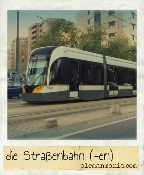 Die Straßenbahn. Öffentliche Verkehrsmittel