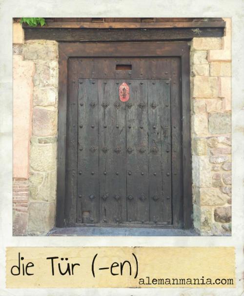 Die Tür. Eine alte und historische Tür