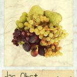 Das Obst. Ein Teller mit frischem Obst
