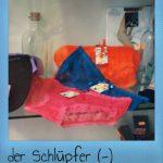 Der Schlüpfer. El escaparate y las bragas de colores
