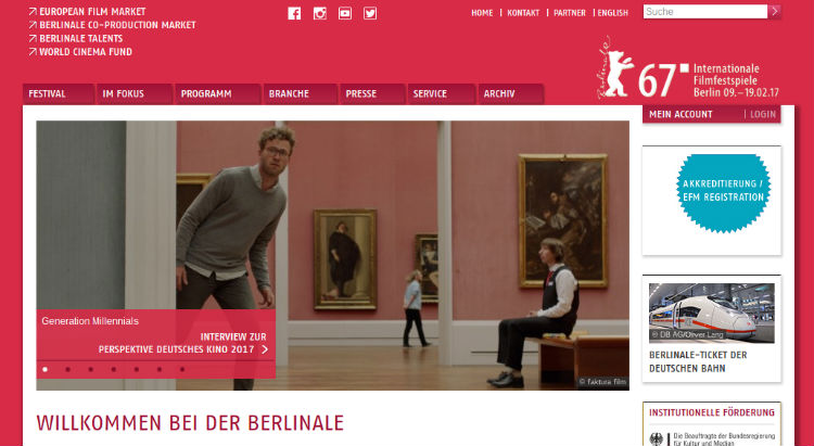 Berlinale 2017, 67ª edición del Internationale Filmfestspiele Berlin
